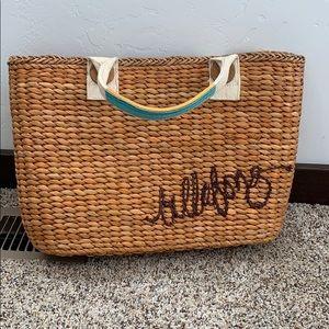 Billabong woven beach bag